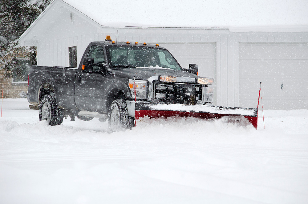 Commercial snow plowing services provided by 5 Star Pest Control & Cabin Care of Grand Rapids, MN.
